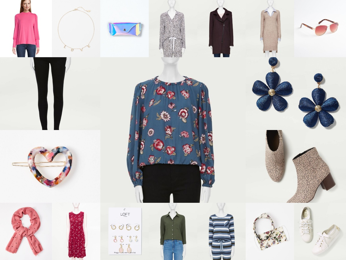 Valentine Special  and other Outfit from Loft outlet