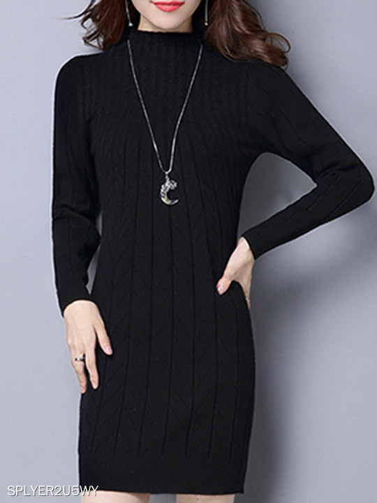 Warm Knitted Dress